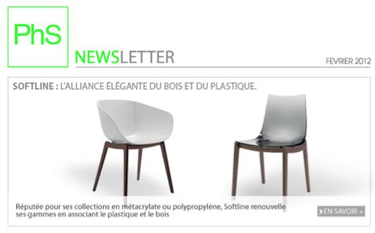 newsletter phs mobilier Février 2012
