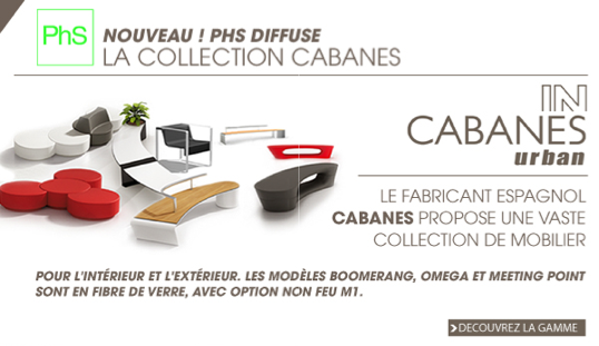 newsletter phs mobilier Collection Cabanes
