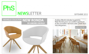 newsletter-phs mobilier septembre 2012