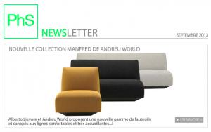 newsletter phs mobilier septembre 2013