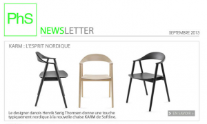 newsletter phs mobilier octobre 2013